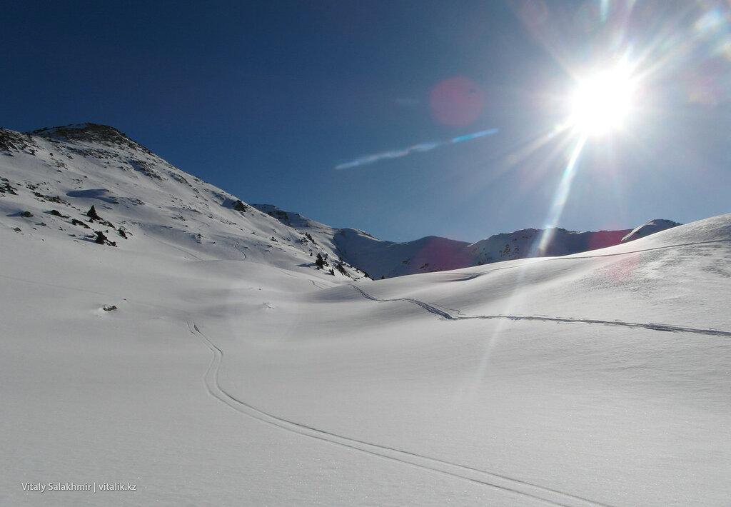 Снег и солнце. Фурмановка.
