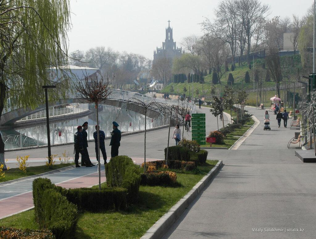 Обзор парка Бабура в Ташкенте, Узбекистан