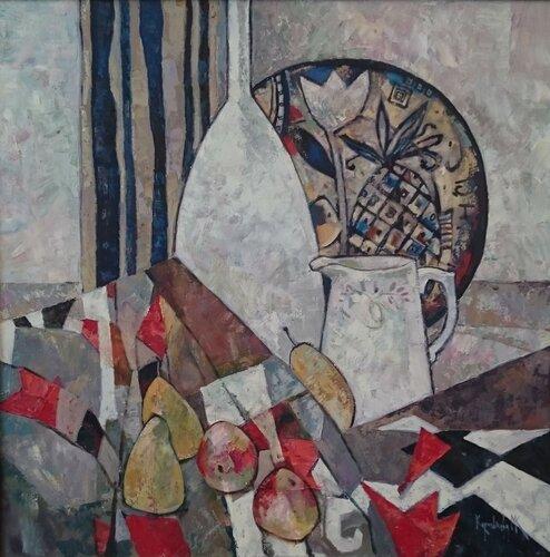 Королькова (Натюрморт с тюльпанами)