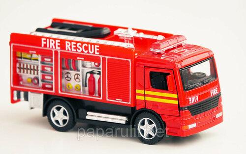 Машинка Kinsfun пожарная