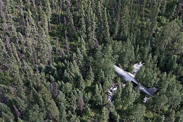 Fuel of Life, Happy End #6.1, Canada, 2011 / Curtiss C46 Commando, lost engine power on a fuel run,