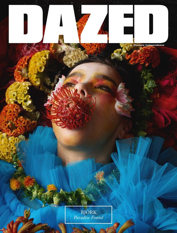 Bjork Stars in Dazed Magazine Fall 2017 Cover Story (18 pics)