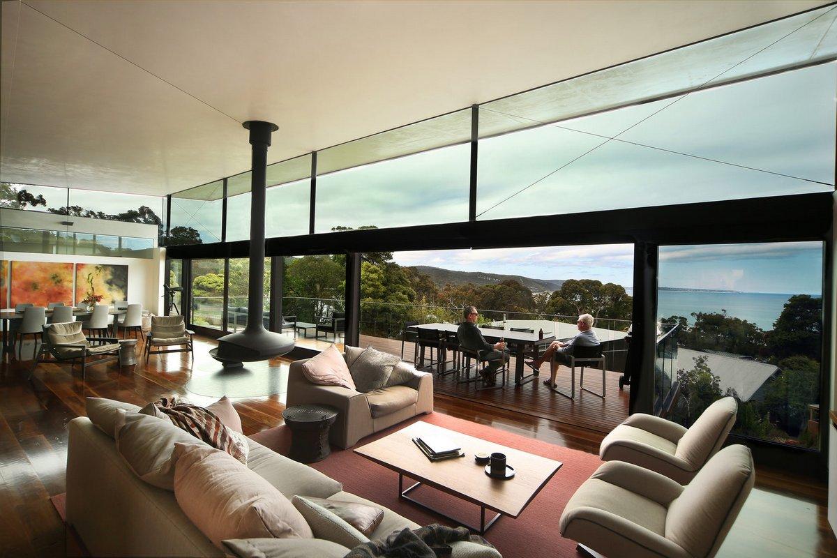 Семейная резиденция на берегу океана