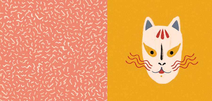 Sensitive Colorful Illustrations by Willian Santiago