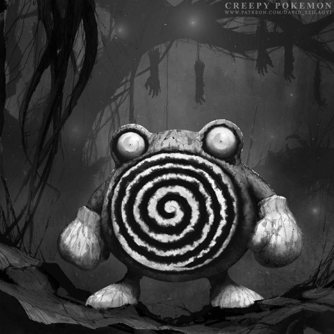 Pokemon Monsters – Quand un illustrateur devoile le cote sombre des Pokemon