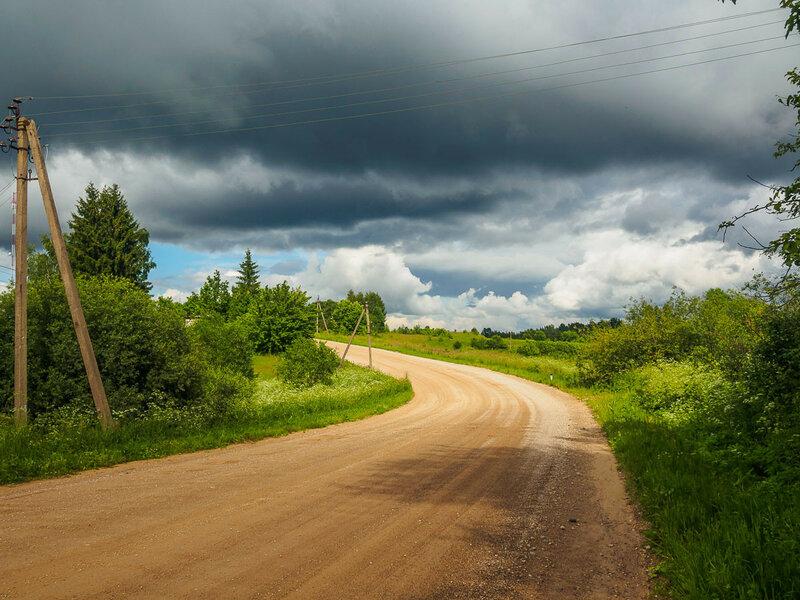 Дорога не всегда горизонтальная и прямая.