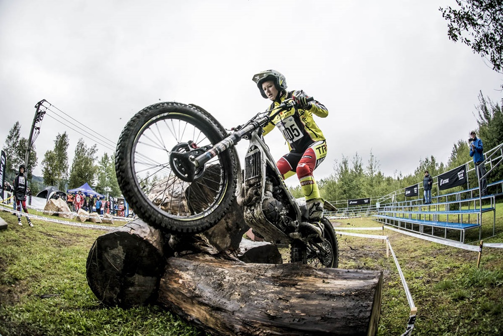 Тони Боу выиграл чемпионат FIM Trial Outdoor 2017