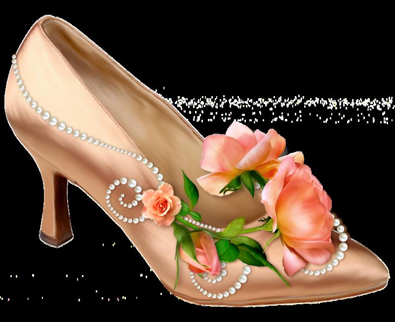 анимация картинки туфелька с розами заявлении