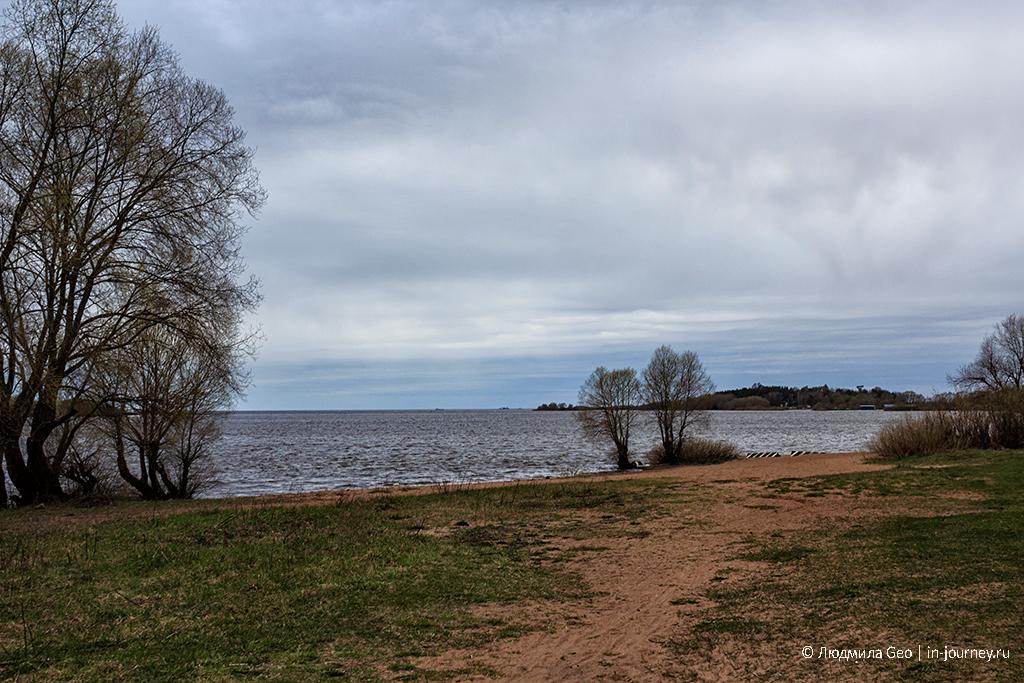 Волхов у озера Ильмень