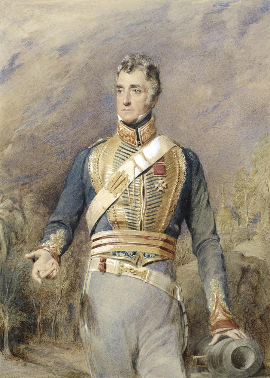 Портрет подполковника сэра Чарльза Хопкинсона, 1834 год