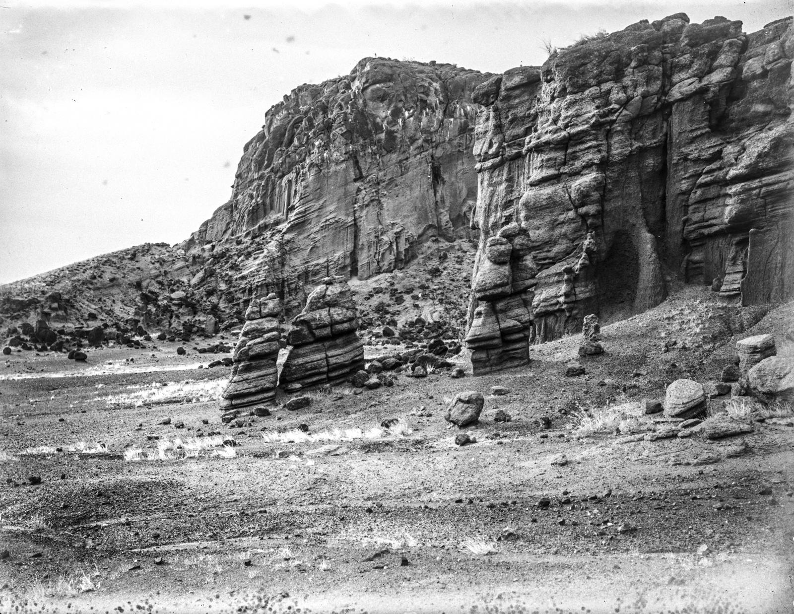 27. Вид на кратерную стену у вулкана Гелей