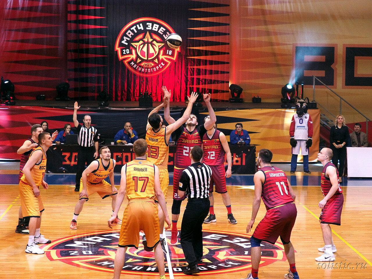 58 Матч звезд АСБ 2018 (ассоциации студенческого баскетбола)