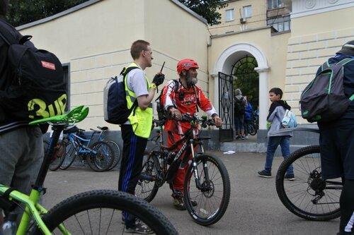 На финише Катушкин - Наша комманда