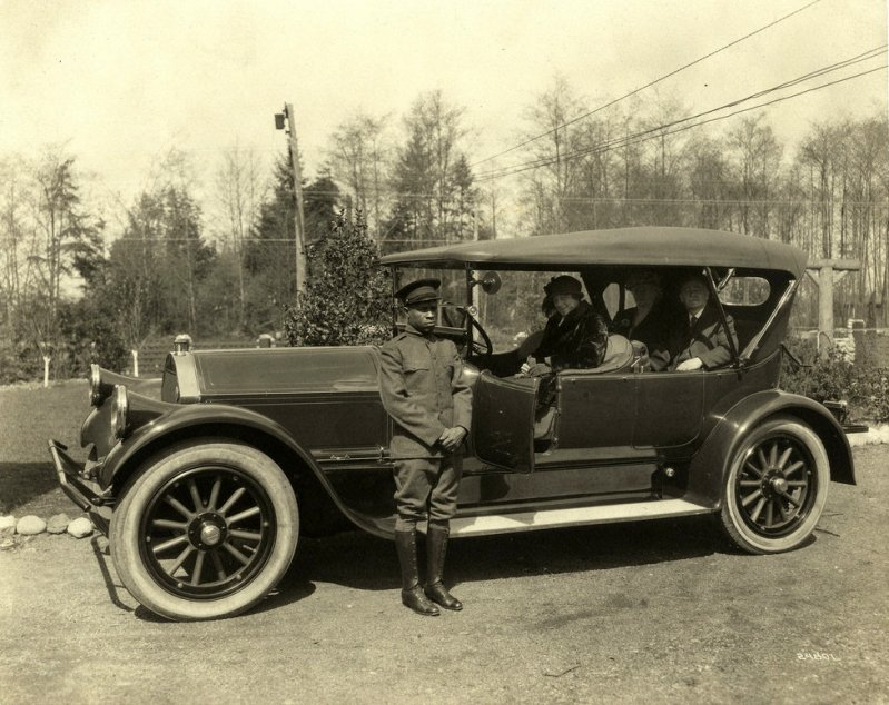 Энди Ф. Скотт и Anderson Special Race Car, Канзас-Сити, штат Миссури, 1915