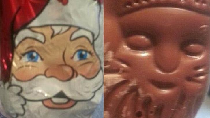 Санта, я не узнаю тебя в гриме. Или, скорее, без грима.