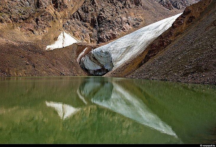 Верховья реки Иссык: