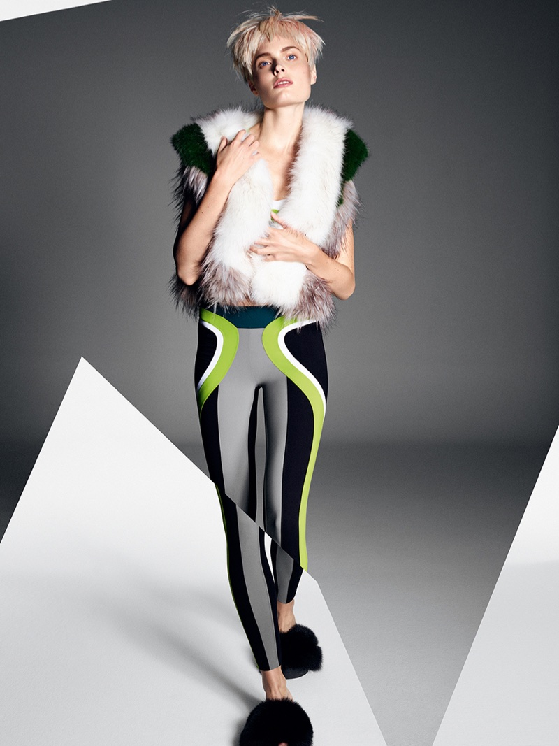 Агнета Хегелунд для итальянского Glamour (10 фото)