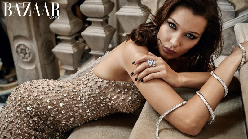 Белла Хадид в Harper's Bazaar Arabia (10 фото)