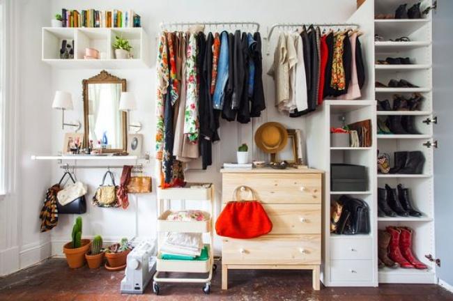 © weburbanist     Самое важное вхранении одежды— это видеть всето, что выносите втот