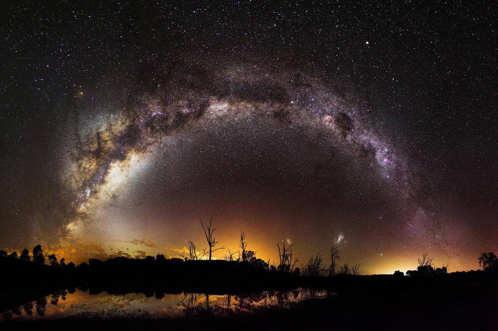10. Млечный путь в Западной Австралии. (Фото inefekt69):