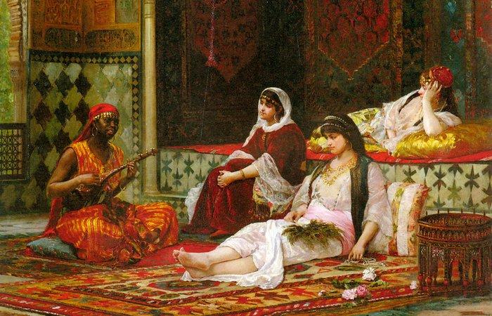 В переводе с арабского «гарем» означает «отделенное, запрещенное». Это место в доме всегда было скры