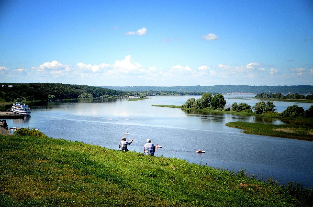 Лето.Волга.Разговор.
