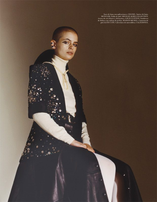 Cajsa Wessberg is the Cover Girl of L'Officiel Mexico