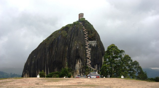 659 Steps to Climb on a Colombian Mountain
