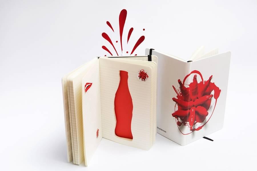 Moleskine Notebooks Celebrates 100 Years of Coca-Cola Bottle