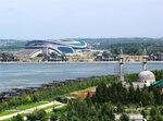 IMG_7360 Универсальный футбольный стадион «Казань Арена» и Строящаяся мечеть