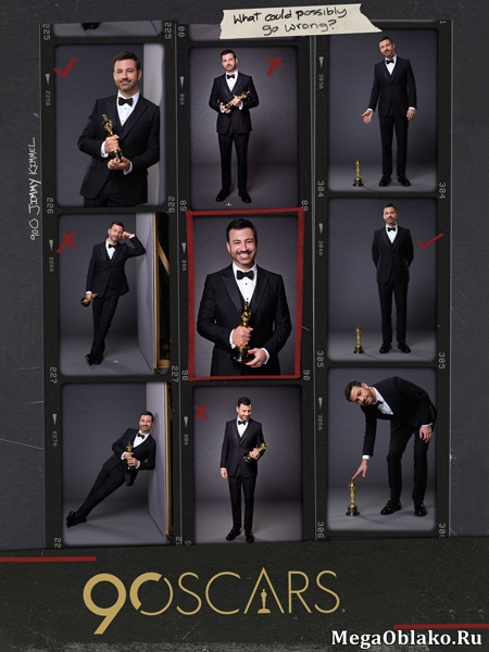 «Оскар» (90-я церемония открытия и вручения премии) / The 90th Annual Academy Awards / 2018 / HDTV (720p) + HDTV (1080i)