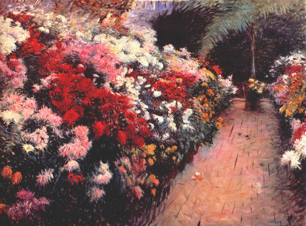 Джон Бункер. Хризантемы.