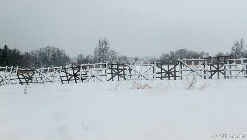 Снегозадержание, Вологодская область