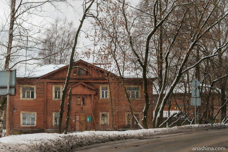 Деревянные дома, Череповец
