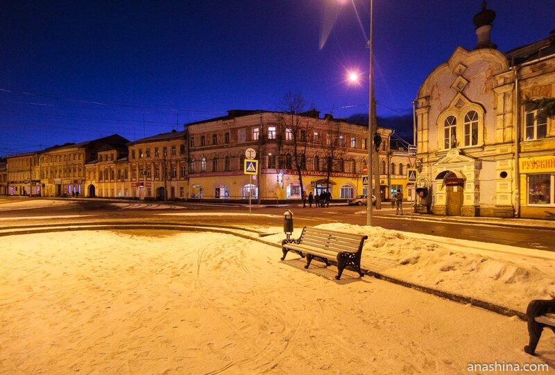 Дома по улицам Стоялой и Крестовой, Рыбинск