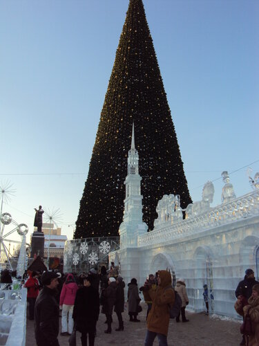 Екатеринбург. Главная елка города (январь2018)
