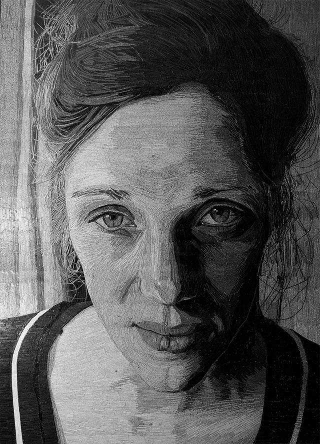 Shredded Poetry Portraits – Jamie Poole (7 pics)