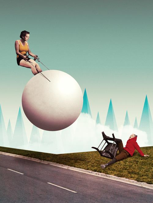 Illustrations – Collage – Julien Pacaud (13 pics)