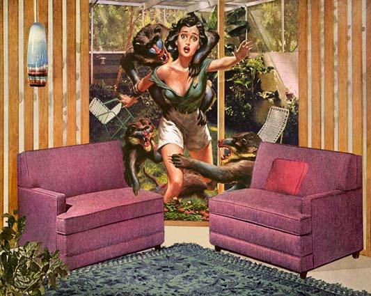 Vintage Style Digital Collages - Nadine Boughton