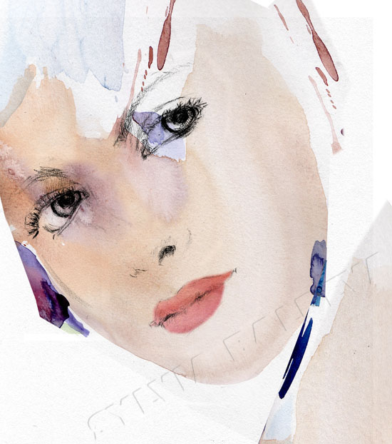 Fashion Illustrations - Sylvia Baldeva