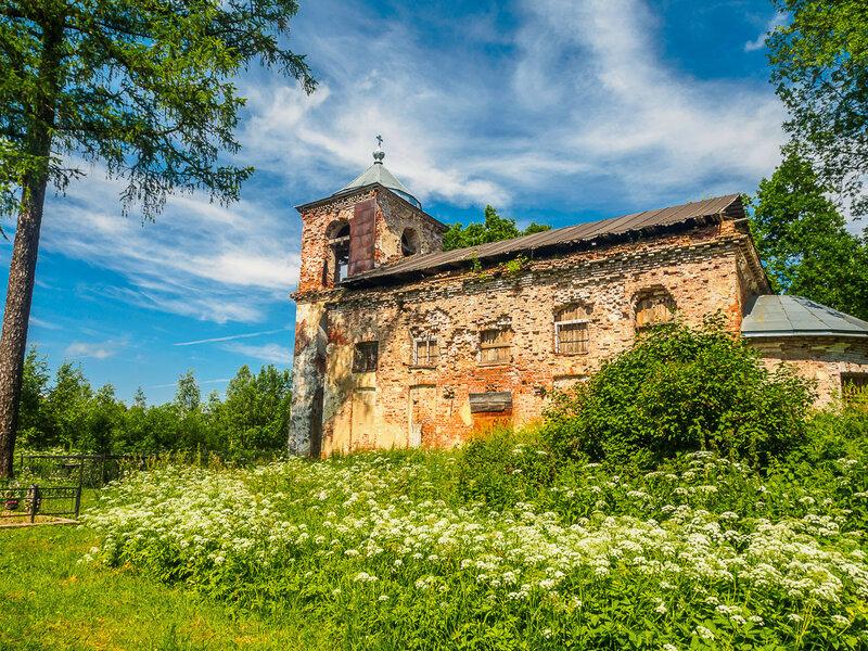 Церковь Николая Чудотворца в Пельгоре, 1796-1806 гг.