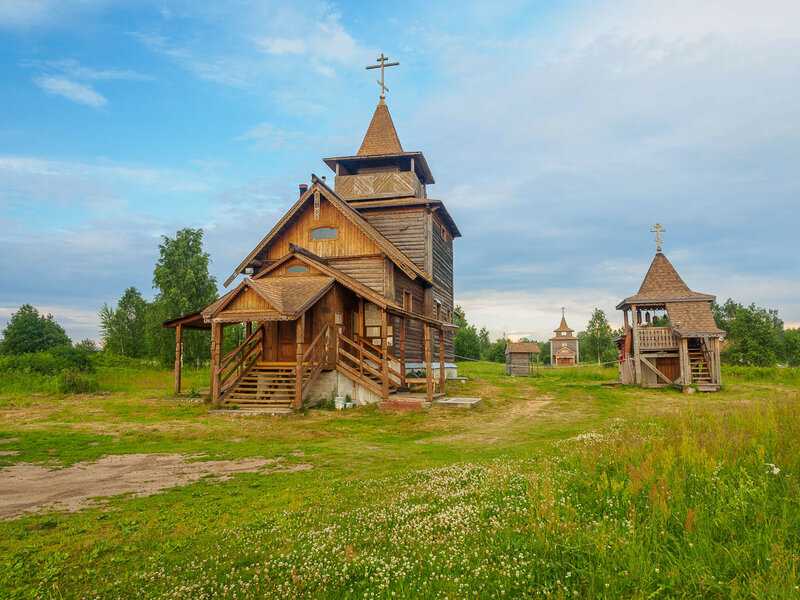 Единоверский храм преподобного Сергия Радонежского.