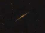 """Галактика  NGC 4565 """"Игла"""" в созвездии Волосы Вероники"""