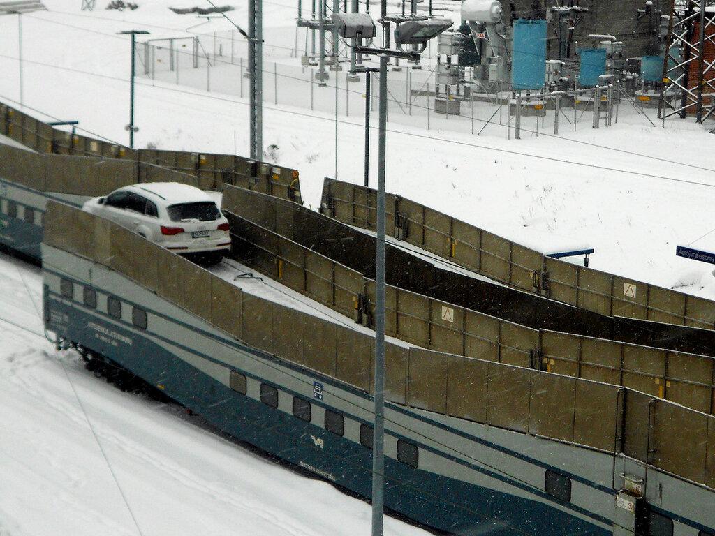 Перевозка личного авто по железной дороге