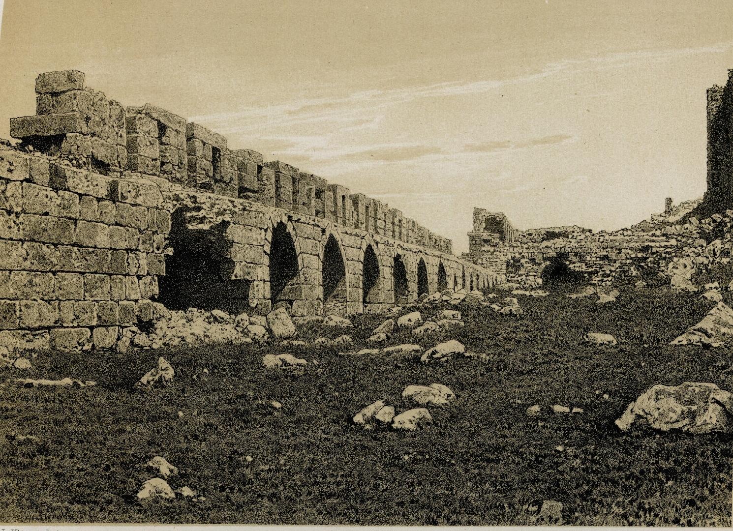 64. Эль-Карак. Первый крепостной ров