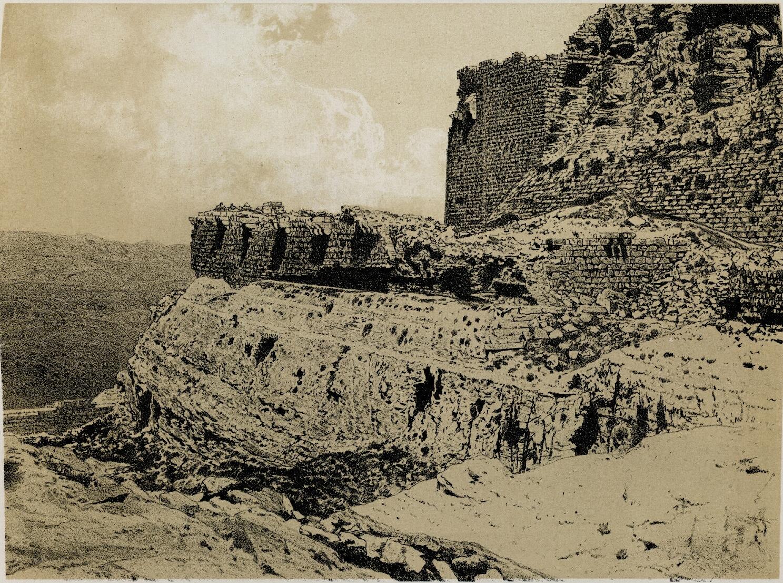 66. Эль-Карак. Вид второго оборонительного рва