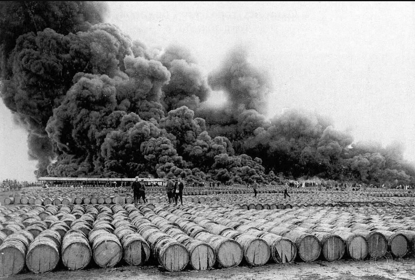 Пожар на Смольном Буяне. 1909