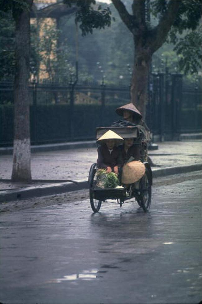 Рикша в центре Ханоя