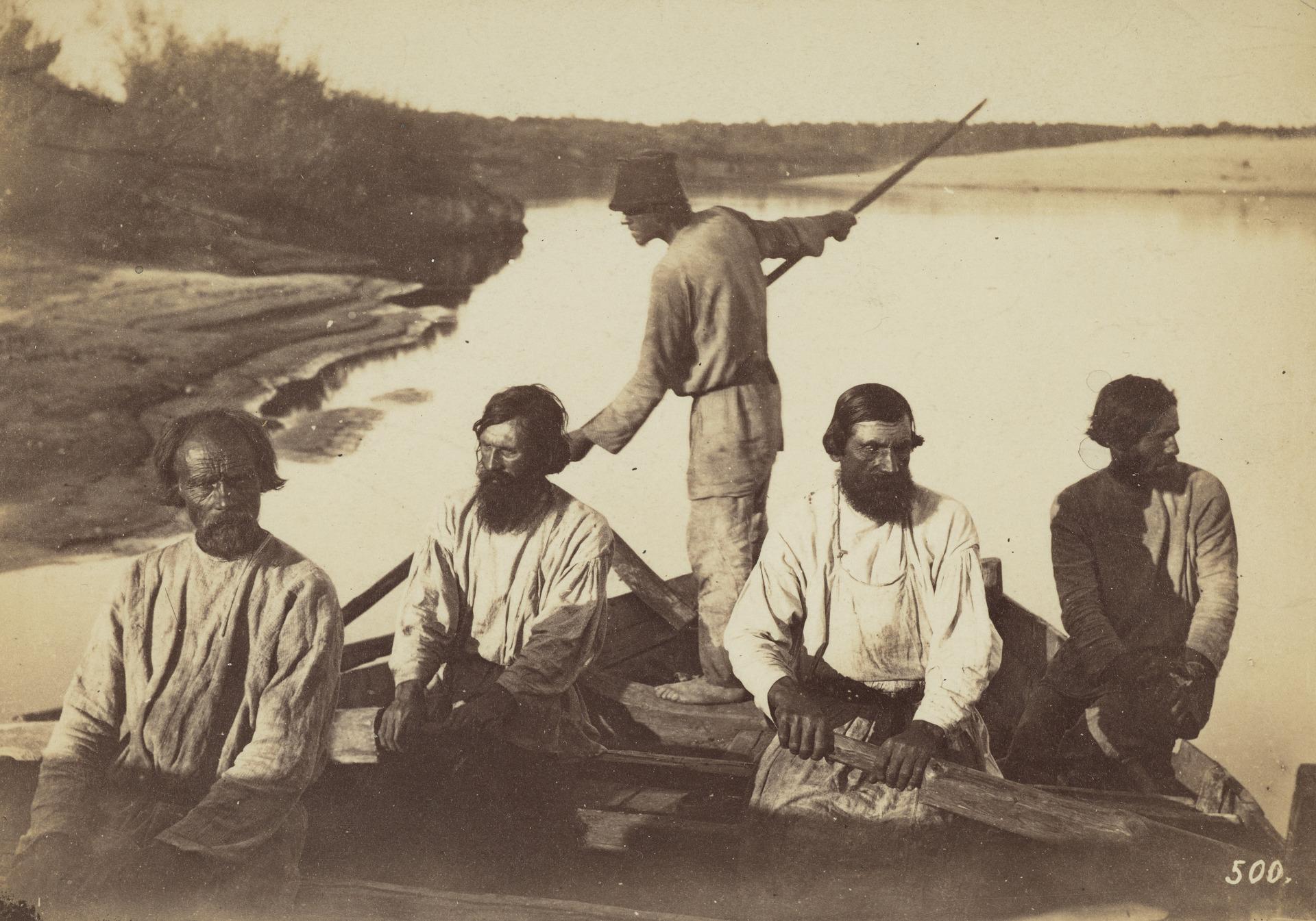 Лодочники, река Волга
