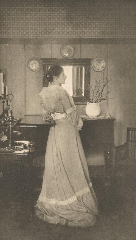 1907. Портрет миссис К.